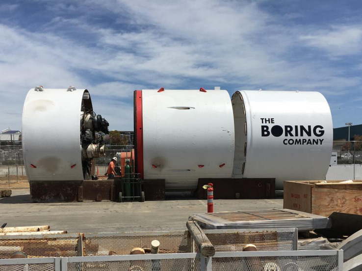 tunnel boring machine nasa - photo #23