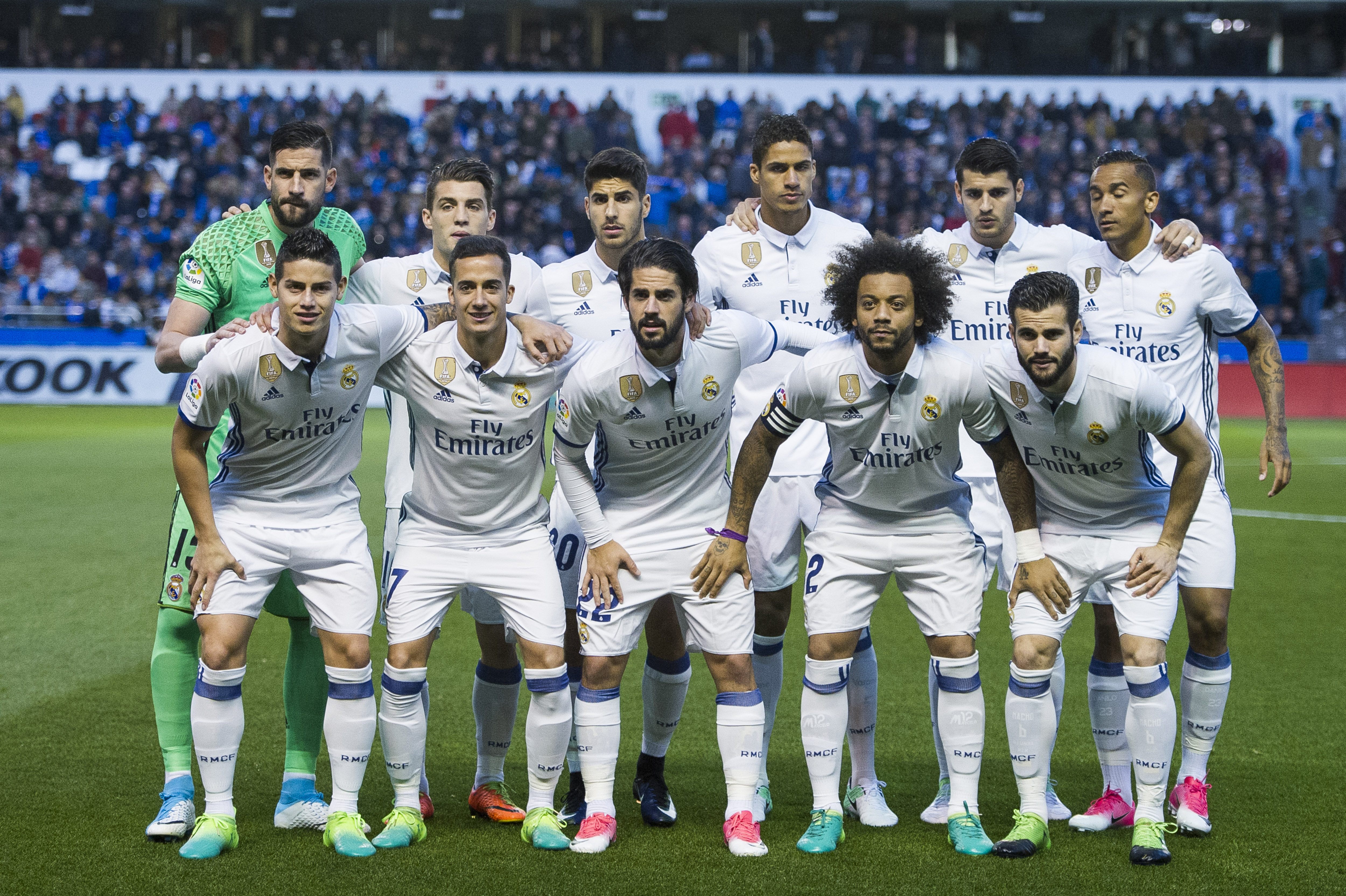 Real Madrid Roster