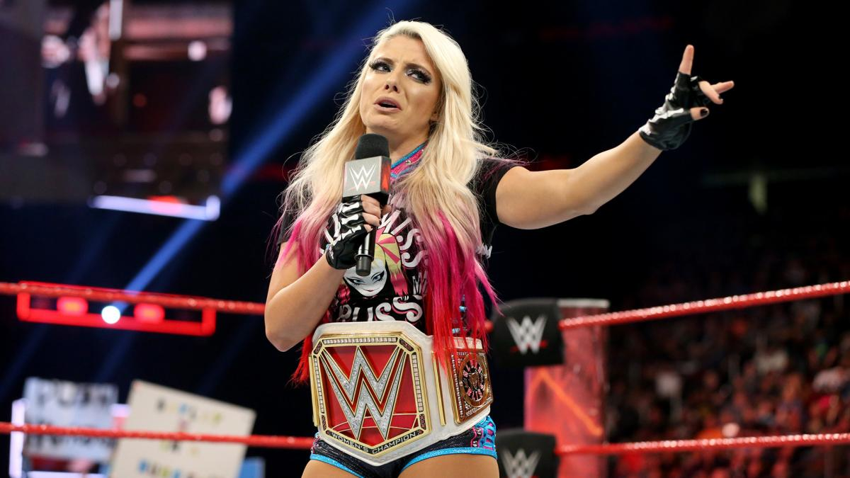 Alexa bliss gif hunt - Alexa Bliss 2 What Chants 0 The Raw Women S Champ Has Studied The Ways Of Wayne Campbell So Leave The Most Annoying Chant In Wrestling At Home